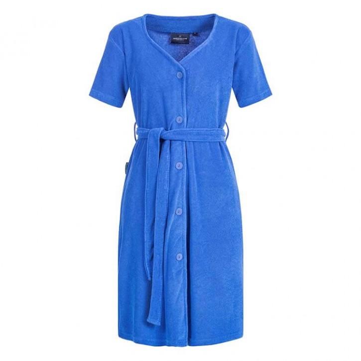 Havlu Elbise Yarım Kol Beşgen Yaka Royal
